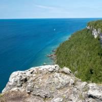 Lion's Head limestone cliffs and endless views   Elise Arsenault