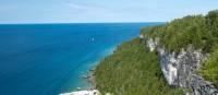 Lion's Head limestone cliffs and endless views | Elise Arsenault