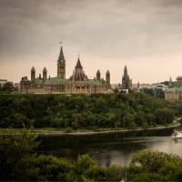 Parliament buildings over the Ottawa River   ©Destination Ontario
