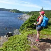 Hiking along the Atlantic Ocean on the East Coast Trail | Caroline Mongrain