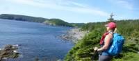 Randonnée sur le sentier East Coast avec vue sur l'océan Atlantique | Caroline Mongrain