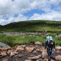 Plenty of pretty river crossings as we traverse the Long Range Mountains