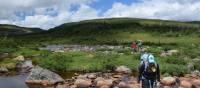 Une bonne connaissance du terrain est nécessaire dans la chaîne de montagnes Long Range, Terre-Neuve
