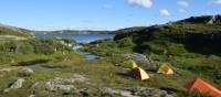 Camping sauvage sur la traversée Long Range, Terre-Neuve