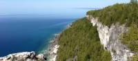 Point de vue depuis Lion's Head sur la baie Géorgienne | Muffy Davies