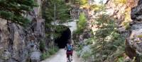 A sunny day in the Myra Canyon | Nathalie Gauthier