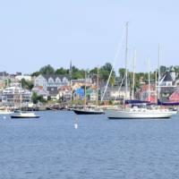 Lunenburg's famous waterfront