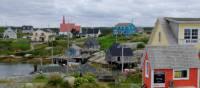 Joli village de pêcheurs près de Peggy's Cove