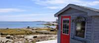 Une jolie baie sur la côte entre Halifax et Lunenburg